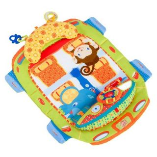 Bright Starts Tummy Cruiser Prop and Play Mat   Blue