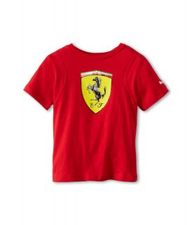 Puma Kids Ferrari Tee Boys T Shirt (Red)