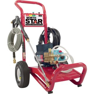 NorthStar Electric Cold Water Pressure Washer   3000 PSI, 2.5 GPM, 230 Volt