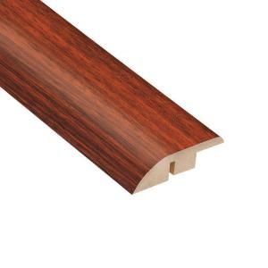 Home Legend High Gloss Brazilian Cherry 12.7 mm Thick x 1 3/4 in. Wide x 94 in. Length Laminate Hard Surface Reducer Molding HL1013HSR