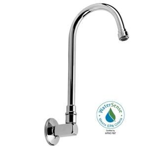 Speakman 8 in. Gooseneck Single Hole Bathroom Faucet in Polished Chrome DISCONTINUED S 3355