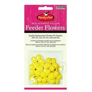 Perky Pet Replacement Yellow Feeder Flowers 202F