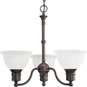 Progress Lighting Madison Collection 3 Light Antique Bronze Chandelier P4280 20