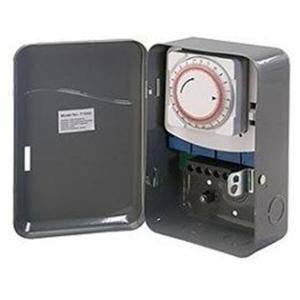 Westek 40 Amp208   277 Volt Double Pole Single Throw Mechanical Timer Switch TM104