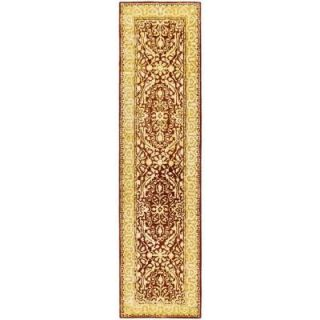 Safavieh Silk Road Maroon and Ivory 2 ft. 6 in. x 10 ft. Runner SKR213G 210