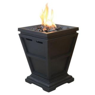 UniFlame Tabletop Propane Gas Fire Pit GLT1343SP