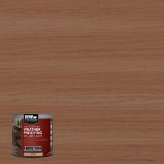 BEHR Premium 8 oz. #ST152 Red Cedar Semi Transparent Weatherproofing Wood Stain Sample 507716