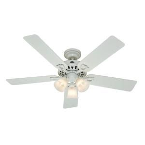 Hunter Sontera 52 in. White Ceiling Fan DISCONTINUED 22434