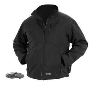 RIDGID 18 Volt Large Heated Jacket Bare Tool in Black R8702B