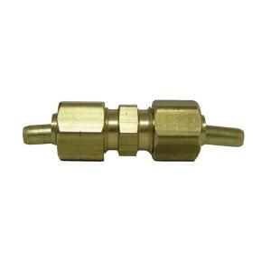 Watts Ander Lign 1/4 in. Brass Compression x Compression Union with Insert LF A10