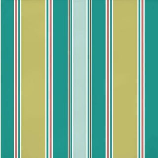 Hampton Bay Riviera Stripe Outdoor Fabric by the Yard AD16540 D10