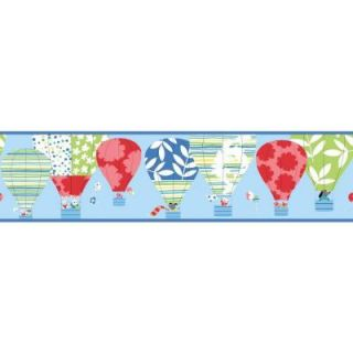 York Wallcoverings 9 in. Hot Air Balloon Border YS9188BD