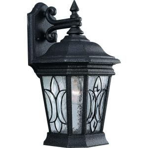 Progress Lighting Cranbrook Collection Gilded Iron 1 light Wall Lantern P5659 71