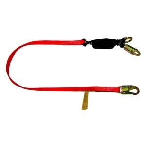 Guardian Fall Protection 6 ft. Heavy Duty Tie Back Lanyard 01275