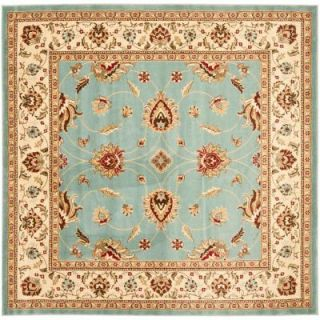 Safavieh Lyndhurst Blue/Ivory 6 ft. 7 in. x 6 ft. 7 in. Square Area Rug LNH553 6512 7SQ