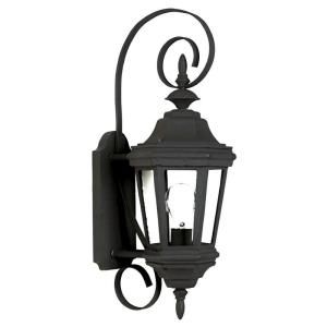 Kenroy Home Estate Small Wall Mount Outdoor Black Lantern 16312BL