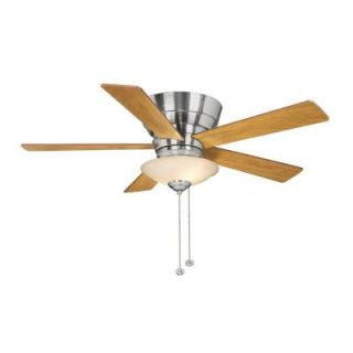 Hampton Bay Andross 48 in. Brushed Nickel Ceiling Fan 14939