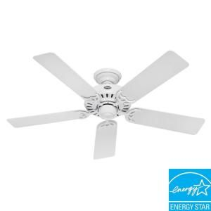 Hunter Summer Breeze 52 in. White Ceiling Fan 53039