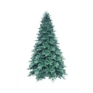 Martha Stewart Living 15 ft. Pre Lit LED Blue Noble Spruce Artificial Christmas Tree with Warm White Lights 7208009 51