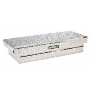 Lund 72 in. Full Size Aluminum Crossbed Push Button Tool Box LALF2872PB