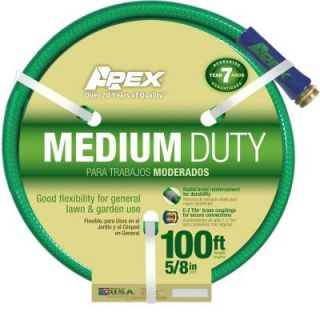 Apex 5/8 in. x 100 ft. Medium Duty Vinyl Water Hose 8535 100