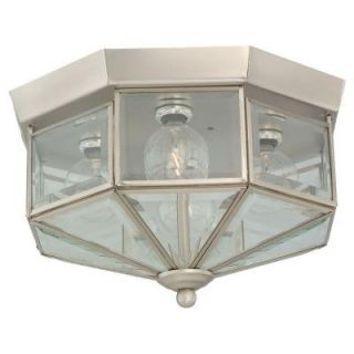 Sea Gull Lighting Grandover 4 Light Brushed Nickel Flush Mount Fixture 7662 962