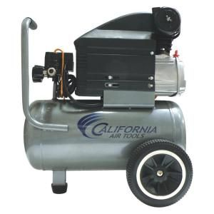 California Air Tools 6.3 Gal. 2 HP Steel Tank Oil Lubricated Air Compressor 263DLH