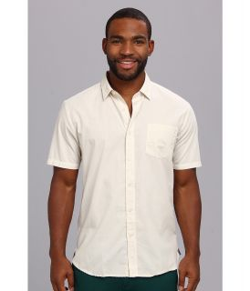 Volcom Weirdoh Solid S/S Shirt Mens Short Sleeve Button Up (White)