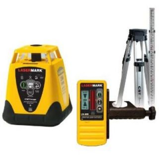 CST/Berger Automatic Electronic Self Leveling Rotary Laser Package with Detector,Tripod and Rod DISCONTINUED 57 LMHCUPK