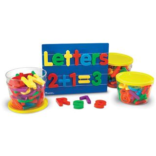 Jumbo Magnetic Letters & Numbers Combo, 116 Pieces Activities & Toys