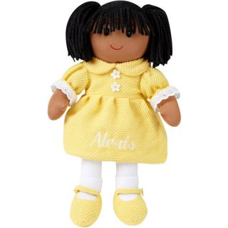 Personalized Rag Doll, African American Rag Doll, Polyester Rag Doll, Little Girl Rag Doll