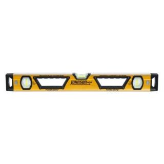 Johnson 48 in. Glo View Heavy Duty Aluminum Box Beam Level 1707 4800