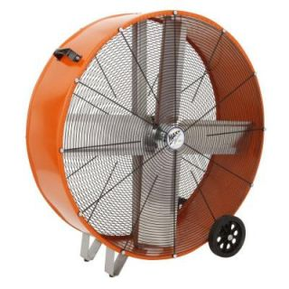 Ventamatic 36 in. 2 speed Direct Drive Barrel or Drum Fan DISCONTINUED BF36DDORGLTL