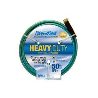 Neverkink 5/8 in. x 50 ft. Heavy Duty Water Hose 8605 50
