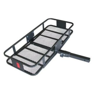 HitchMate Deluxe 350 lb. Capacity Fold Up 2 in. Cargo Carrier 4011