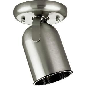 Progress Lighting 1 Light Brushed Nickel Spotlight Fixture P6147 09