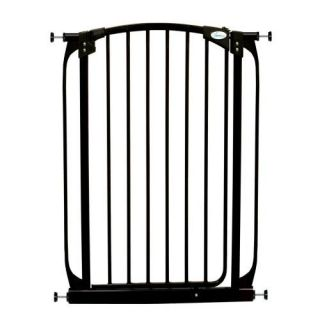 DreamBaby F190B Extra Tall Swing Close Security Gate Black Health & Safety