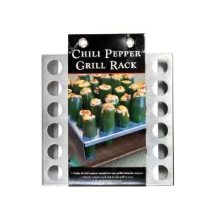 Charcoal Companion Stainless Steel Jalapeno Rack CC3100