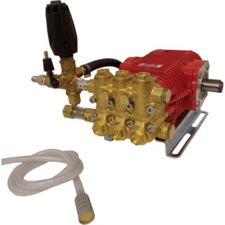 NorthStar Easy Bolt On Super High Flow Pressure Washer Pump   5.0 GPM, 3000 PSI,