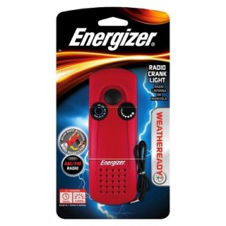 Energizer Weather Ready LED Radio Crank Flashlight