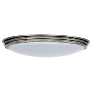 Sea Gull Lighting Nexus 2 Light Brushed Nickel Flush Mount Fixture 59152BLE 962