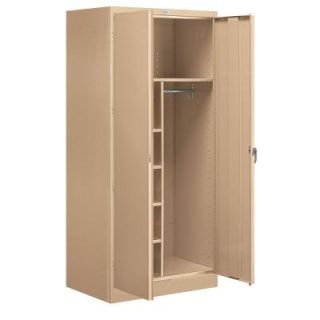 Salsbury Industries 9200 Series 78 in. H x 24 in. D Combination Storage Cabinet Unassembled in Tan 9274TAN U