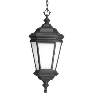 Progress Lighting Crawford Collection 1 light Black Hanging Lantern P6519 31