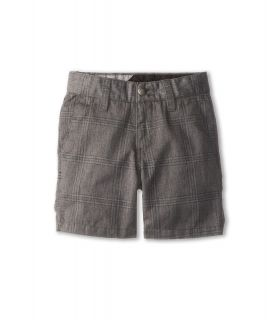 Volcom Kids Frickin Plaid Chino Short Boys Shorts (Gray)