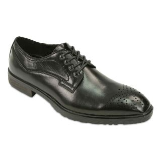 Deer Stags Carlisle Mens Oxfords, Black