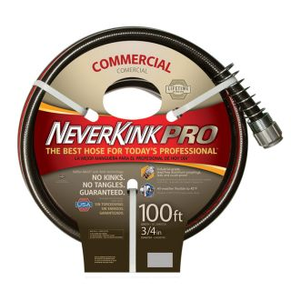 Apex Neverkink Commercial Duty Garden Hose   3/4 Inch x 100ft., Model 9844 100