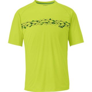 Outdoor Research Echo Graphic T Shirt   UPF 15  Short Sleeve (For Men)   LEMONGRASS (L )