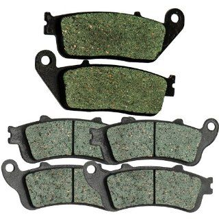 2008 2009 2010 2011 VICTORY Vision Tour Front and Rear Kevlar Carbon Brake Pads Automotive