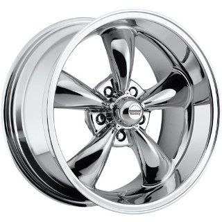 Rev Classic 100 22 Chrome Wheel / Rim 5x4.5 with a 15mm Offset and a 72.7 Hub Bore. Partnumber 100C 2286515 Automotive