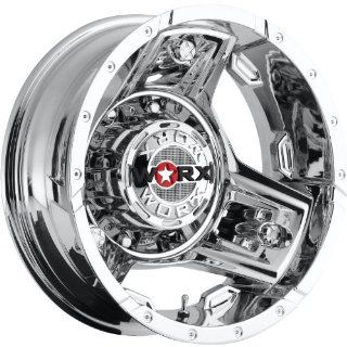 Worx Triad 16 Chrome Wheel / Rim 8x170 with a  140mm Offset and a 125.2 Hub Bore. Partnumber 801 6687RC Automotive